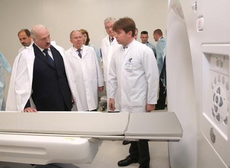 Беларусь с открытием ПЭТ-центра в РНПЦ онкологии вступает в век индивидуальной медицины