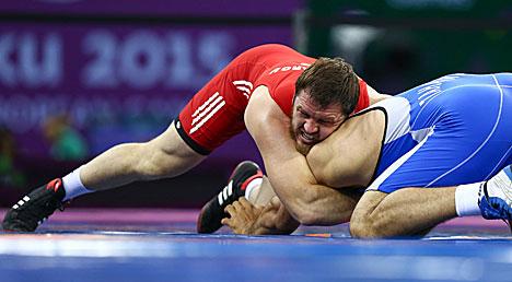 Белорусский борец-вольник Алексей Шемаров завоевал серебро Европейских игр