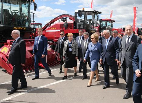 """Мясникович: """"Белагро-2016"""" демонстрирует, что Беларусь - высокоразвитая индустриальная страна"""