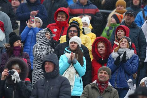 """В """"Раубичах"""" завершился заключительный этап Кубка мира по фристайлу в лыжной акробатике"""
