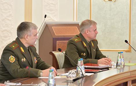 """Лукашенко утвердил замысел белорусско-российского учения """"Запад-2017"""""""