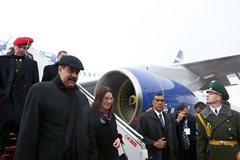 Президент Венесуэлы Николас Мадуро прибыл с официальным визитом в Беларусь