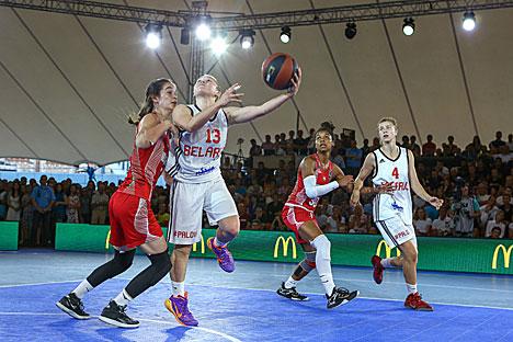 Belarus women's team 2nd at 2015 FIBA 3x3 U18 European Championships