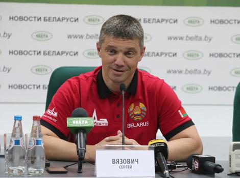 Truck racer Sergei Vyazovich, the leader of the MAZ-SPORTavto team