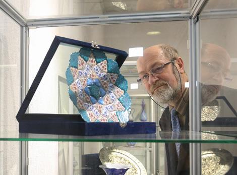 Iranian art on display in Minsk