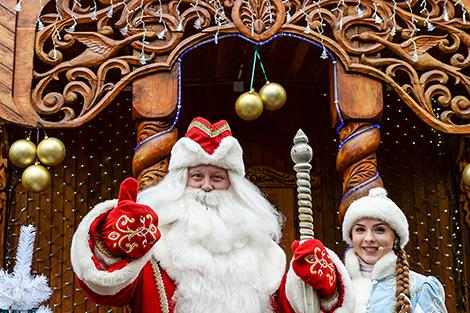Residence of Father Frost in Belovezhskaya Pushcha