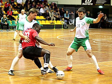 X UEFS European Futsal Championship 2012. Belarus vs Norway