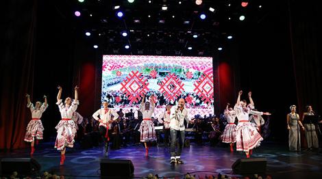 "During the concert. Photo ""Minsk-Novosti"""