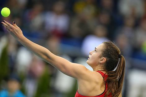 Arina Sobolenko into Citi Open last 16