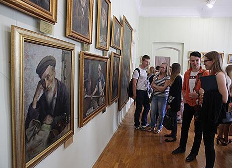 The exhibition of Yehuda Pen's works in Vitebsk