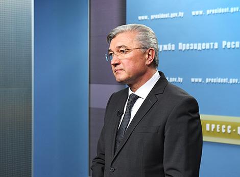 Belarusian Healthcare Minister Valery Malashko