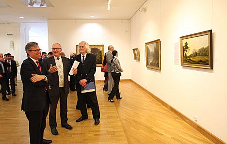 British art on display at Belarus' Art Museum