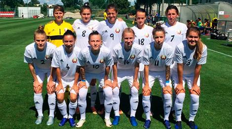Belarusian women's national football team