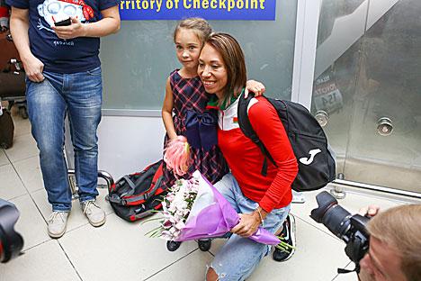 Marina Arzamasova to start training for Rio Olympics in October