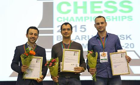 Russia's Ivan Popov named FIDE European Rapid champion