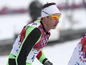 Sergei Dolidovich of Belarus, 50 km cross-country race