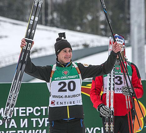 Russia's Streltsov wins Individual title at Raubichi
