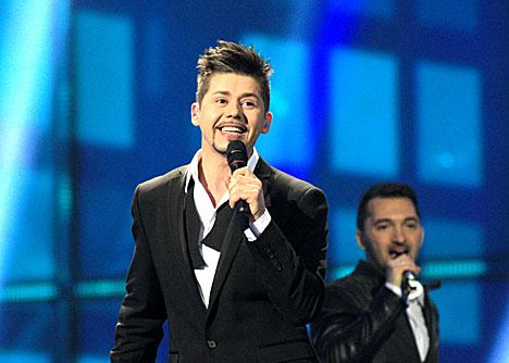 Belarus' representative Teo