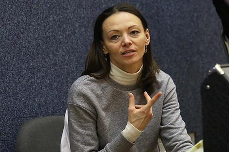 Honored artist of Belarus Marina Vezhnovets