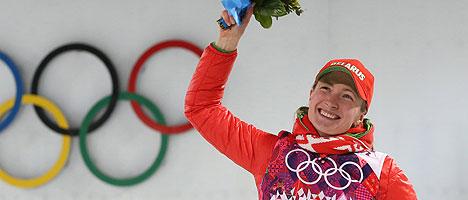 Darya Domracheva – Three-Time Champion of the 22nd Winter Olympic Games in Sochi (biathlon)