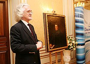 """Walenty Wankowicz """"The Portrait of poet Tomasz Zan"""""""