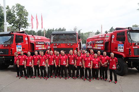 Belarus' MAZ-SPORTavto team