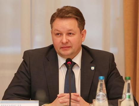 Minsk Mayor Andrei Shorets