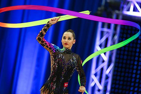 2016 Olympic Games finalist Yekaterina Galkina