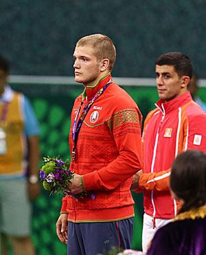 Viktor Sosunovsky brings European Games bronze to Belarus