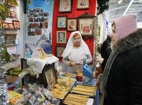 International Christmas expo opens in Minsk