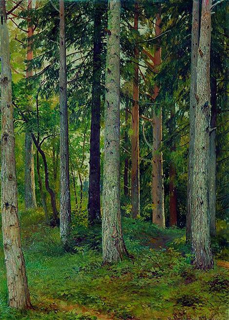 Ivan Shishkin's artwork Forest