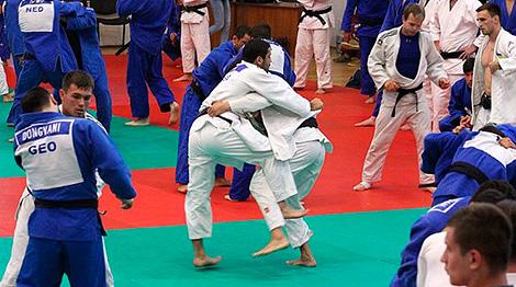 International training camp in Staiki gathers judokas from 34 countries