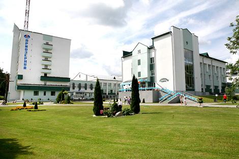 Belarusian health resort  Priozerny