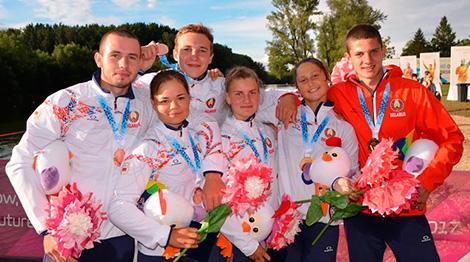EYOF: Five more medals for Belarus