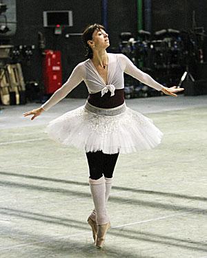 Nina Ananiashvili at the National Academic Bolshoi Opera and Ballet Theater of Belarus