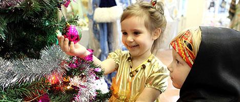 Children's Christmas Ball in Mir Castle