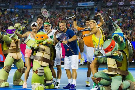 Azarenka partakes in Kids Tennis Day. Jimmie48 Photography | Tenis Dunyasi Magazine