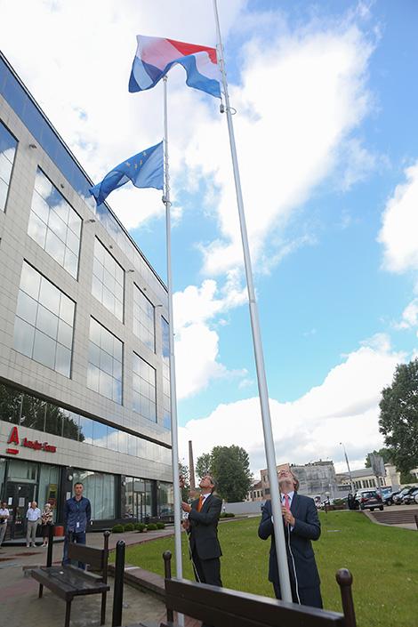 Dutch Embassy Office opens in Minsk