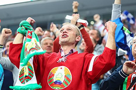 Olympic Ice Hockey Qualifier. Belarus - Slovenia (2-3)