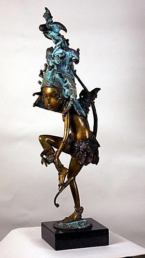 Exhibition of Belarusian sculptor Andrei Ostashov