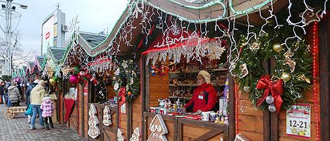 Christmas Market in Minsk