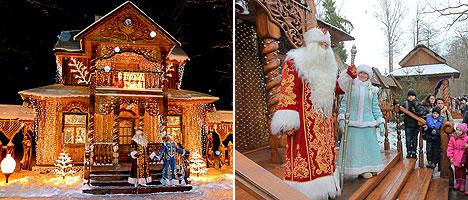 Residence of Belarusian Father Frost in Belovezhskaya Pushcha