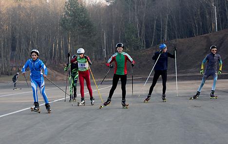 The biathlon center near Gorodok