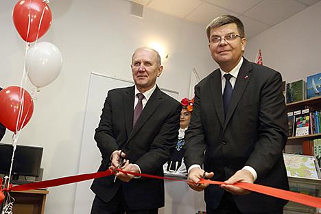 Tourist information center of Poland's Podlaskie Voivodeship opens in Grodno