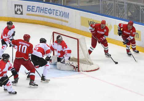 Belarus beat Switzerland at Christmas tournament in Minsk