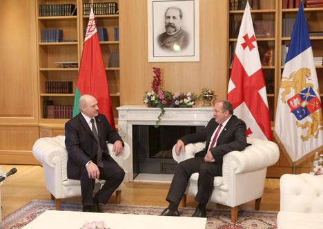 Margvelashvili: Belarus, Georgia share good past to build better future