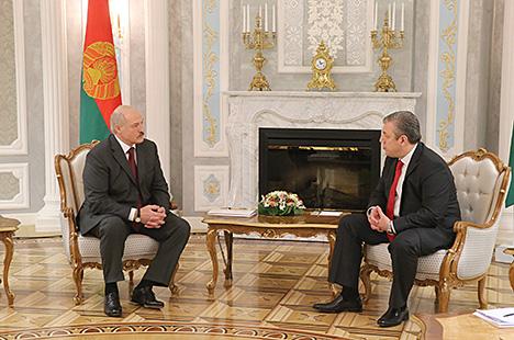 Lukashenko: Belarus, Georgia should raise bilateral trade to $200m