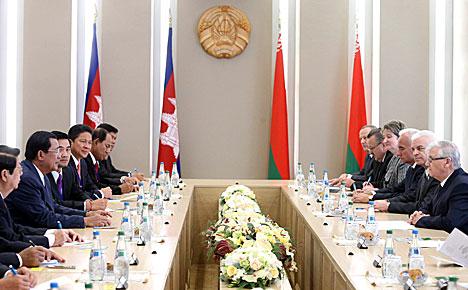 Anatoly Rubinov said met with Cambodian Prime Minister Hun Sen