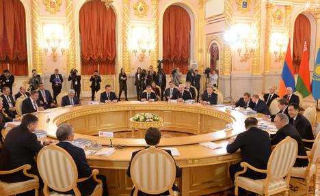 Nazarbayev thanks Belarus for hard work as EEU president