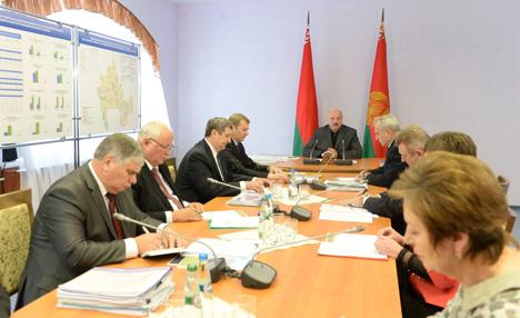 Lukashenko urges to promote rural development in Belarus